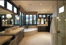CB Home: Bed & Bath / Indulge in this showcase of fabulous interior design that features the best bathroom sinks, tubs, showers and fixtures - both indoor and outdoor - from Coldwell Banker California.