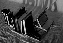 bookcase and book / bookcase