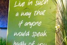 Quotes / by Sandra Brooks McCravy
