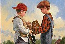 """ ARTFUL CHILDREN "" / In Transition / by Mrs. B"