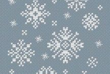 Winter-New Year-Christmas cross stitch