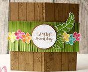 Geburtstagskarten by rosa Mädchen / Birthday cards with Stampin' Up! by rosa Mädchen