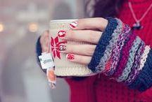 Winter/socks/scarf/mittens/gloves