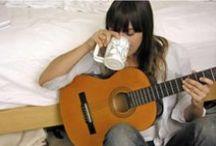 tambores y cuerdas / Baterias, guitarras, bajos, Platillos / by Sloopy Drunk Set