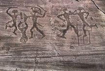 Preistoria / Pitture rupestri, Veneri, Megaliti- Dolmen-Menhir- cromlech, Nuraghi.