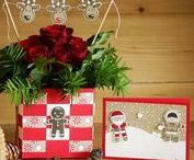 Weihnachtskarten by rosa Mädchen / Christmas Cards with Stampin' Up! by rosa Mädchen