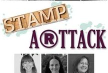 Stamp A(r)ttack Blog Hop / Stamp A(r)ttack Blog Hop with Stampin' Up! by rosa Mädchen