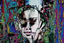 my work / #painting#digital painting#drawings#graphics