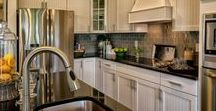 Beach Home Kitchen Design and Decor / Check out the kitchen design and decor of our beach home floor plans in Millville by the Sea for ideas and inspiration.