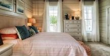 Beach Home Bedroom Design and Decor / With its coastal location, the homes in Millville by the Sea are seaside-inspired, including the charming bedrooms.