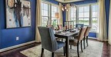 Dining Room Decor | Beach Homes / Dig into the coastal-inspired dining room decor of our Millville by the Sea beach homes!