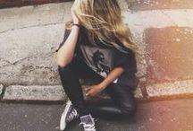 fashion / #fashion #outfit #clothes #street #style #gray #black #white