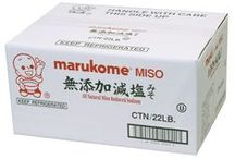 Marukome Food Service Products / Contact marukome for more information. 949-863-0110 http://www.marukomeusa.com/products_food_service.html