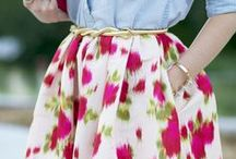 ** Skirts, Dresses **
