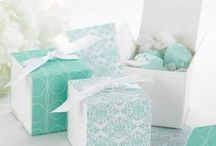 Tiffany Blue Themed Favors / Tiffany Blue party favors and ideas http://www.exclusivelyyoursfavors.com/Tiffany-Blue-Themed_c110.htm