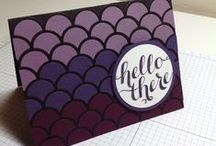 My Stampin' Up! Projects / Cards I've Made