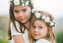 {flower girls & ring bearers} / Darling flower girl and adorable ring bearer inspiration!!!