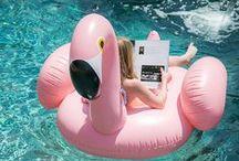 p o o l    p a r t y / Are you waiting for a colorful pool float?