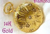 Vintage Gold Jewelry & Watches / Pin Your Vintage Gold Jewelry & Watches Here - For an Invite, PLEASE Email me at FindMeTreasure@aol.com