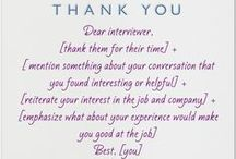 Interviews & Resumes