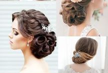 (Hairstyles) Wedding. Prom. Formals
