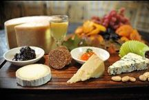 A little Wine and Cheese / Some of our favorite wines and cheeses. Most of which our on our menu so come in and try them!!