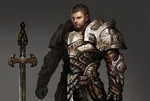 Fantasy - Kämpfer, Krieger, Barbaren