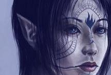 Fantasy - Elfen & Halb-Elfen