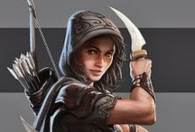 Fantasy - Diebe, Assassinen u.ä.