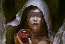 Fantasy - Kleriker, Orakel, Mystiker