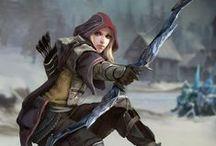 Fantasy - Schützen / Bogen, Armbrüste und dergleichen