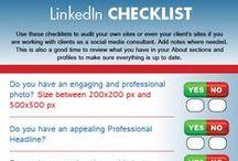 LinkedIn Marketing / Infografías y artículos sobre LindedIn como herramienta de marketing online