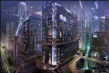 Cyberpunk, SR - Umgebungen