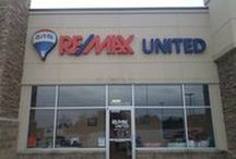 RE/MAX United - Listings & Agents / RE/MAX United Agents are here to work hard for you!  Call today and one of our Professional full time agents would be thrilled to talk to you about your Buying and/or Selling needs!