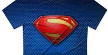 футболки с супергероями