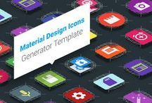 Icons Packs / Premium icon packs templates in PSD format, fully customizable and very easy to use. Check the full collection here http://bit.ly/PremiumIconTemplates