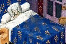 * Pillows, bedding, tablecloths, towels, etc... / Poduszki, pościel, obrusy, ręczniki...