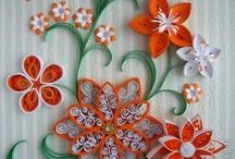 Paper Craft - Quilling / beautiful crafting