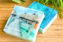 Amazing soaps / Lovely soaps found all around pinterest. I'd love to make some soaps like these! Some soaps to buy, some tutorials, and a lot of inspiration!