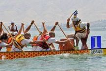Dragon Boat Israel on the water / Cool photos of our races.