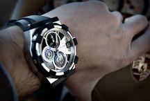 Man Bracelets / Wrist clocks for manly men  / by GoD3vs