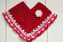 ✿ Crochet Poncho's ✿ / Crochet poncho's