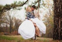 Wedding Photo Ideas. / When wedding photo shoot is fun.