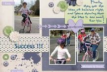 Girls Layouts - Phlox Dragon Designs / by Phlox Dragon Designs