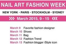 """NAIL ART FASHION WEEK 2015 / By So Nailicious """"Nail art warriors are you ready? The first ever Nail Art Fashion Week kicks in today. Hosted by Seizethenail, @faustgil, Manicurator and yours truly. It's going to be EPIC!!! Download the schedule now on http://SoNailicious.com. There will be great prizes for participants and some of the best designs will be featured on our Instagram. So make sure you use the official hashtag #NAFW2015"""