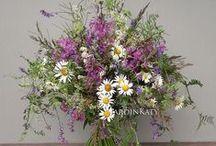 Букеты из полевых цветов / Букеты из полевых цветов, летнее настроение