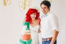 Disney inspired weddings / Some people are just crazy about Disney and and so what? Why not combining getting married with your favorite Disney movie. However, see for yourself!