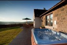 Fife Lodges & Cottages with Hot Tubs / Nine luxury self catering holiday lodges, two beautiful country cottages and a large Farmhouse set on the south-facing slopes of a working farm all with amazing views of the surrounding Fife countryside.  For more information phone 0333 210 1055 or visit www.solidluxury.co.uk