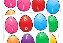 Alphabet and Phonics / Teaching your child in preschool, kindergarten, or first grade the alphabet can be a lot of fun activities.  Many ideas are free, hands on, and easy to make (DIY).  These are great for parents, for teachers, for adults that work with toddlers and kids.  Great for preschool and kindergarten preparation and getting reading for further elementary school literacy.