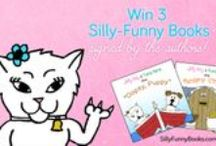 Silly-Funny Sweepstakes / Monthly Facebook giveaways. Enter to win! http://www.facebook.com/SillyFunnyBooks #sweepstakes #win #free #cats #dogs #funny